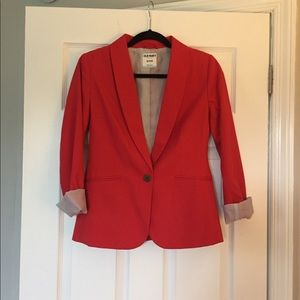 Old navy red blazer xs